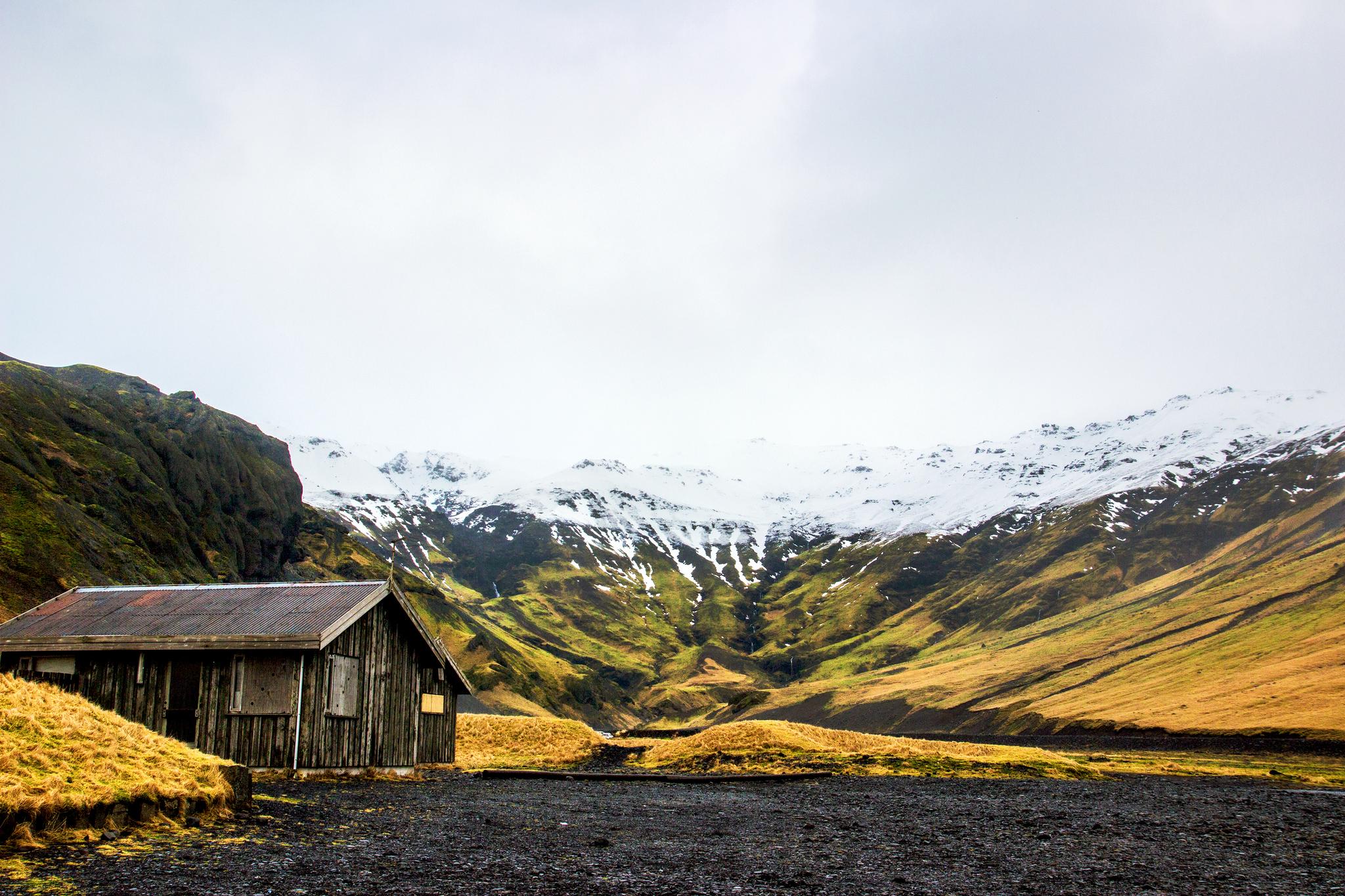 Seljavellir en Islande