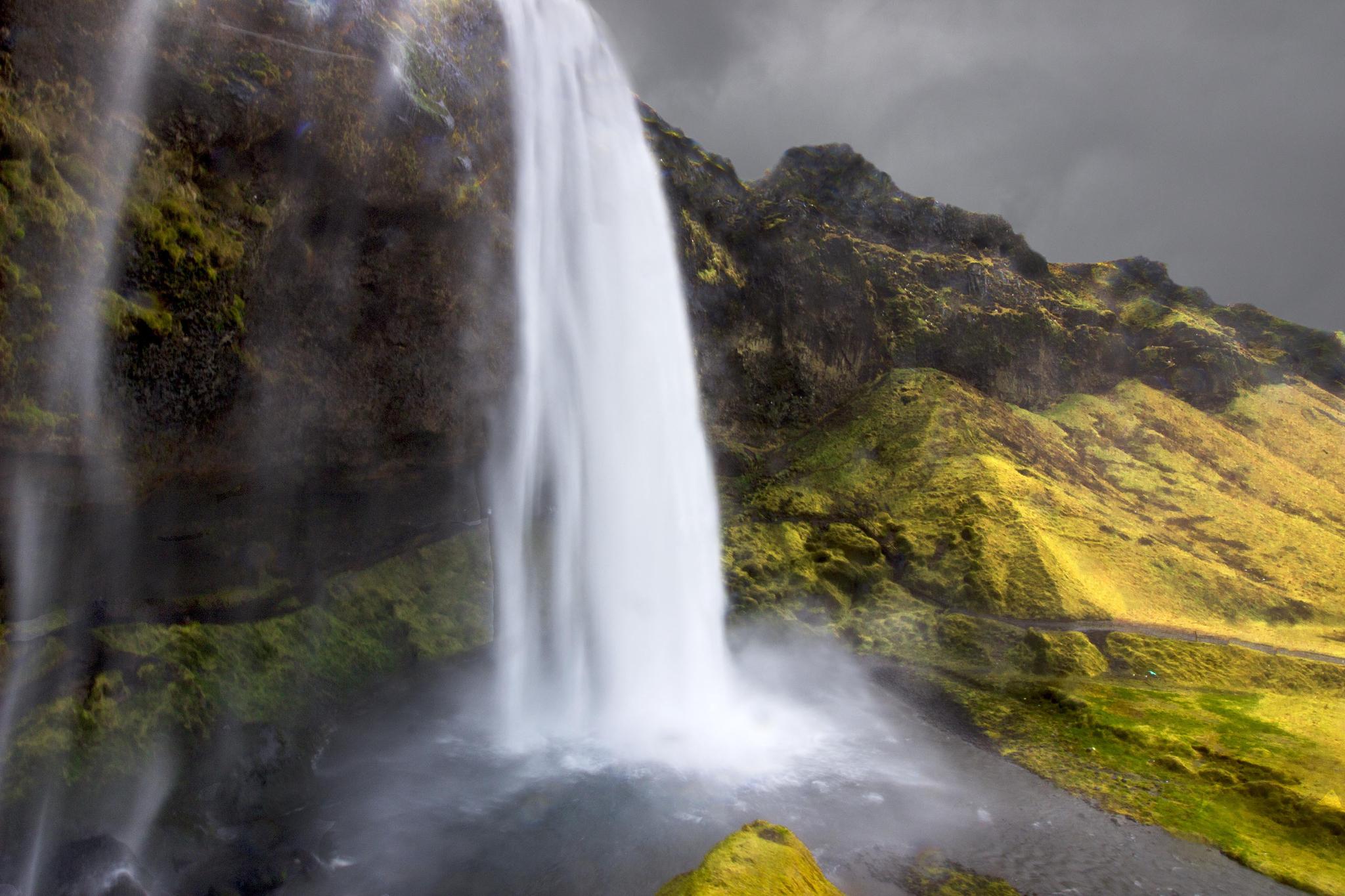 Seljalandsfoss, l'une des cascades d'Islande