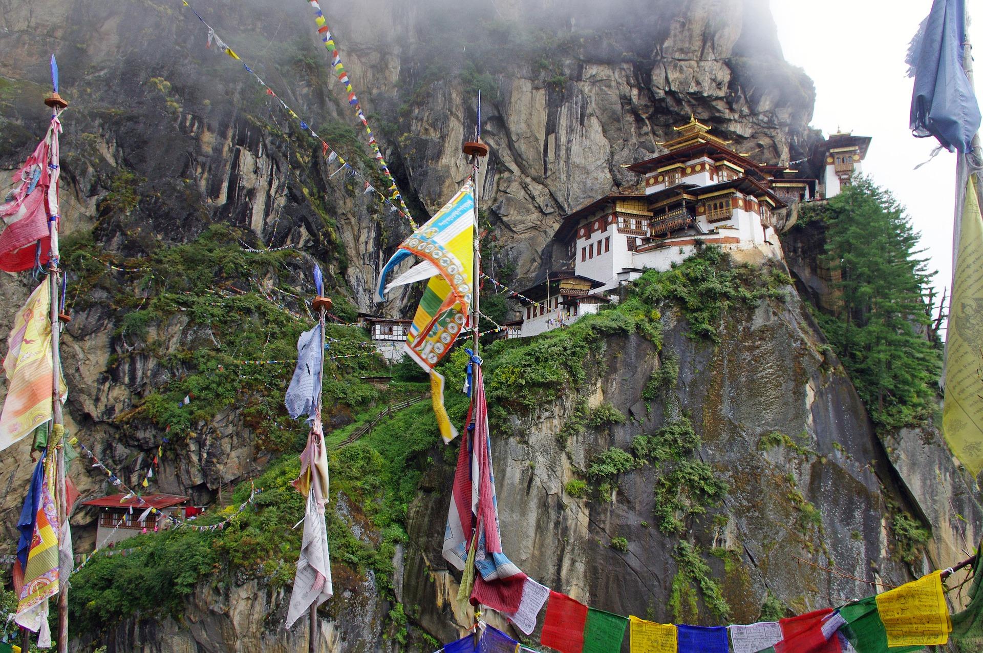 Taktshang monastère du Bhoutan
