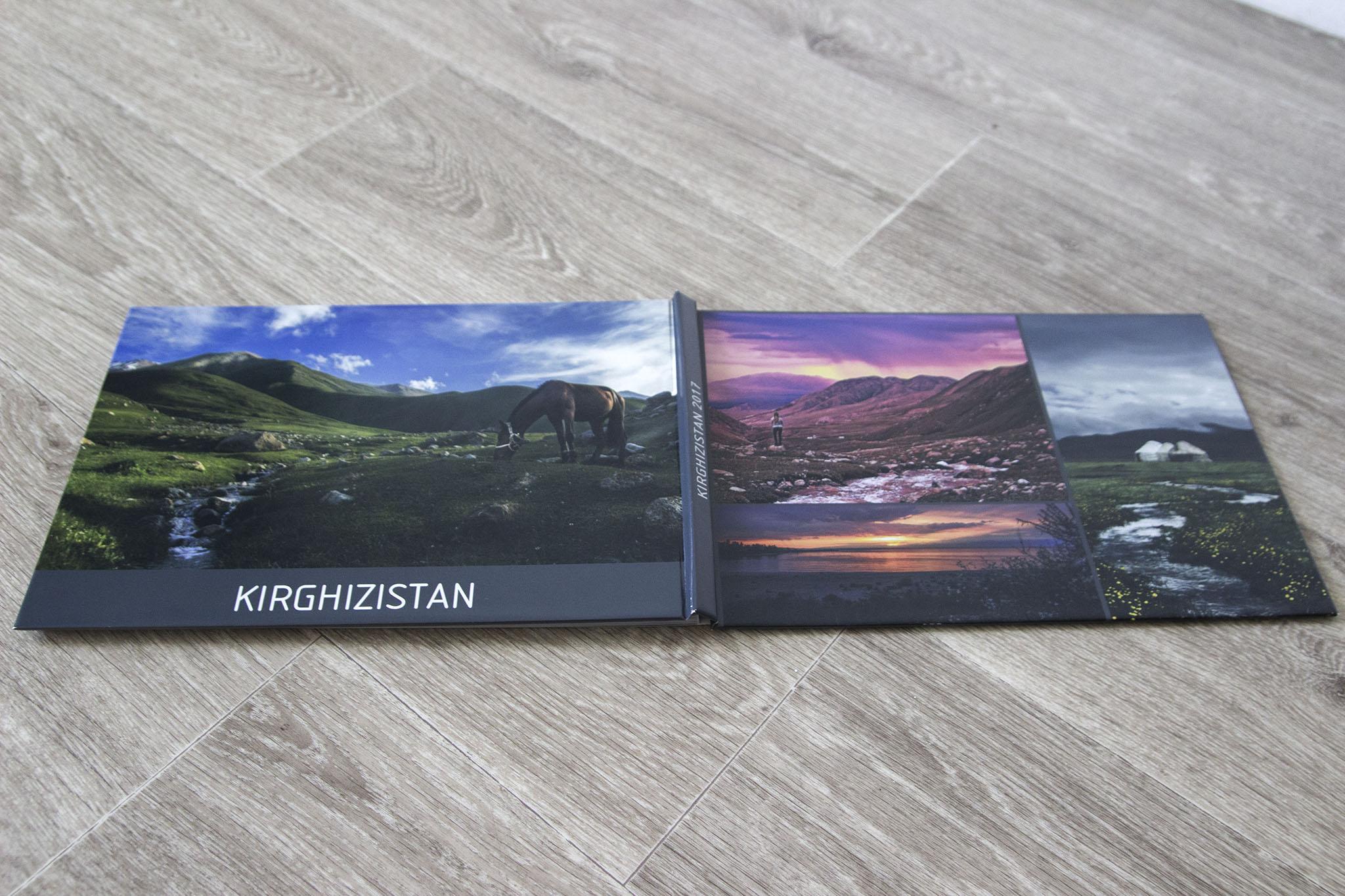 Un des livres photos crée via Myfujifilm